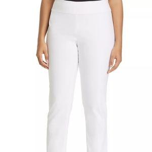 NIC + Zoe HIGH WAIST WHITE PANTS